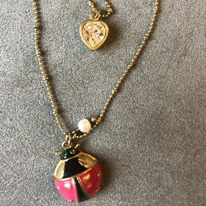 BETSEY JOHNSON 😽 layered necklace